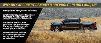 Robert DeNooyer Chevrolet In Holland, MI | Serving Grand Rapids ...
