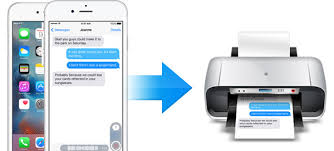 5 Steps to Print iPhone X 8 7 6s 6 Text Messages from iCloud