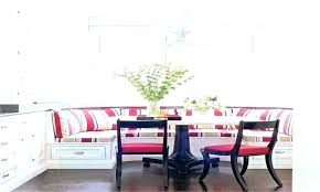 Booth Dining Table Set Style Room Kitchen With