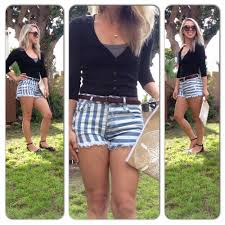 the beachonista my 3 favorite ways to style high waist shorts