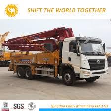 100 Concrete Pump Truck For Sale China 33m Small Boom For