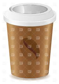 Paper Cup With Coffee Vector Image Artwork Of Food And Beverages C Konturvid Click To Zoom
