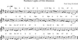 Northern Lights of Old Aberdeen on folk tune finder