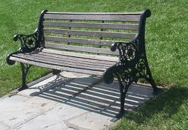 Park bench slats
