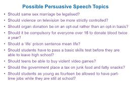 Talking Writing and Presenting a Persuasive Speech ppt