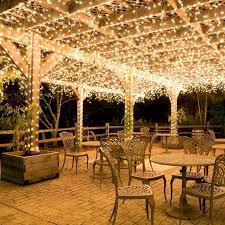Pleasant Operated Patio Lights Ideas Wedding Pergola Outdoor Reception