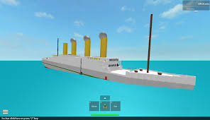 Brittanic Sinking by 2009 Roblox Places 5 Realistic Sinking Britannic By