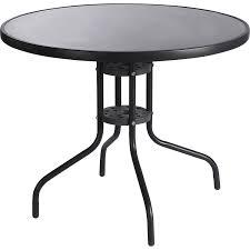 table de jardin ronde élégant table de jardin metal ronde mc immo