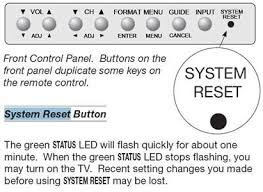 Wd 60735 Lamp Timer Reset by Solved I Have A Mitsubishi Unisen Tv Installed Fixya