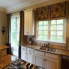 Kitchen Curtain Ideas Above Sink by Under Kitchen Sink Curtains Diy Burlap Valance How To Make