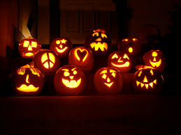 Glow In The Dark Plastic Pumpkins by Pumpkin Carving Ideas