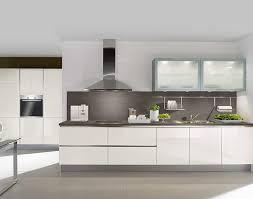 häcker geradlinige designküche weiß meda gute küchen