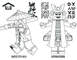 Ninjago Dragon Coloring Pages Of