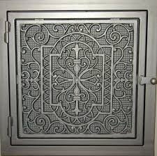 Decorative Wall Air Return Grilles by Cast Aluminum Cold Air Return Cast Aluminum Decorative Wall