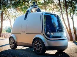 Nuro's Self-Driving R-1 Doesn't Drive You. It Drives Stuff. | WIRED