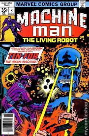 Machine Man 1978 1st Series 3