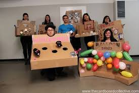 Cardboard Players Photo By Janet Chiang