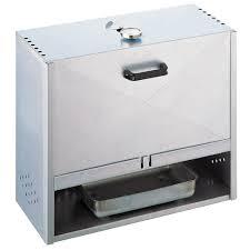 fumoir cuisine ducatillon fumoir f50 acier aluminisé ou acier inoxydable cuisine