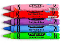 crayola bathtub fingerpaint soap and crayola body wash pens
