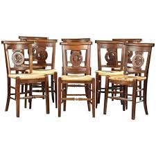 Set Of 6 French Style Rush Dining Chairs 5570009 La137976 French ... Guy Chaddock Melrose Custom Handmade Fniture Cf0485s Country French Ding Chairs With Ladder Back And Rush Seats Antique Farm Carved Tall Seat Room Set Of 6 Provincial In Walnut 10 Louis Xv Style Oak Leather Nailhead Recliner Chair Vintage White Of Four Six Xiv Ladderback Scalloped Stretchers Inspire Q Eleanor Wood 2 By Dec 16 2018