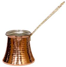 Copper Turkish Coffee Pot Cezve