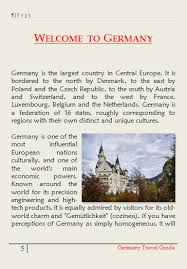 Germany Travel Brochure Guide Pdf Vacation Ideas On Free Templates Examples