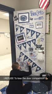 Christmas Office Door Decorating Ideas Contest by College Week Door Decorating Competition Pennstate Winning My