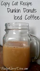 Large Pumpkin Iced Coffee Dunkin Donuts by Dunkin Donuts Iced Coffee Recipe Donut Icing Copy Cat Recipe