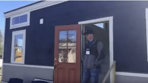 spacious two bedroom tiny house is fit for a small family