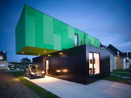 100 House Made From Storage Containers Prefabricated Made From Shipping Crossbox