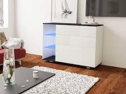 artis kommode sideboard wohnzimmer schlafzimmer modern led schubladen push to open 120 cm esa home