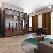 Small Apartment Design Under 600 Square Feet Bathroom