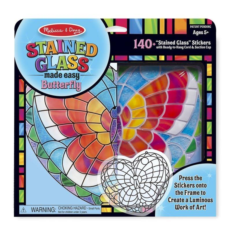 Melissa and Doug Stained Glass Made Easy Activity Kit