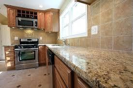 oak cabinet with granite countertop oak cabinets with granite