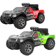 100 Rc Desert Truck 118 4WD 18kmh Racing Drift RC Offroad Car Monster