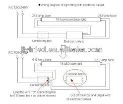 wonderful led fluorescent replacement wiring diagram contemporary