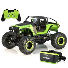 100 Rc Cars And Trucks Videos New Bright RC 114 Scale VR Dash Cam Rock Crawler Jeep Trailcat