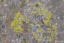 Visualization of Land Devoted to Parking – DenverInfill Blog