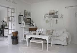 Cute Shabby Chic Home Interior Theme For Your Decoration Fancy Living Room