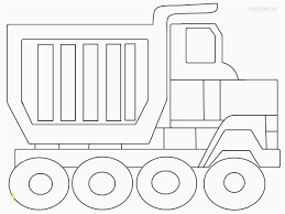 100 Coloring Pages Of Trucks Dump Truck Printable Dump Truck Page New