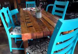 Awesome DIY Rustic Dining Room Table With Diy Slender Bringing Design Home