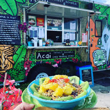 Big Island Bowls - Jacksonville Food Trucks - Roaming Hunger Hidden Gem Hip Rainey Street Food Truck Is Your Ticket To Paradise Food Root Note Fding Fans At Breweries Around Town Raskin A Citroen Serving Vegetarian Burritos And Nachos A The Middle Feast Food Truck Life Beautiful 2017 Streats Vegan Truck Berlin Happycow The Green Tambourine Offers Vegan Cuisine On The Go Times Free Press Menu Affin Saturday Night Foodies Now There Vegetarian In Best Trucks La Oc From Daniel Shemtob New Mexican Hit Tartan Stuffed Twisted Pretzels University Ave West Guide Montreal Montreall