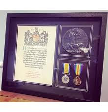 WW1 Medal Frame Empire Medals