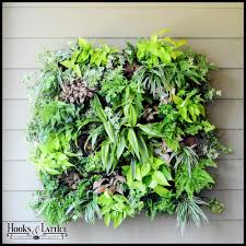 Living Wall Planters DIY Systems Hooks And Lattice Throughout