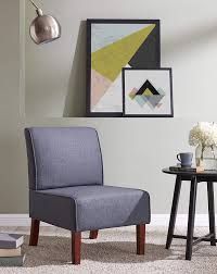 Amazon.com: EBS Armless Fabric Accent Chair Living Room ... Hot Item Sales Velvet Armchair Accent Chair With Metal Legs For Living Room 7 Stunning Chairs For Your Home Office Gray Home Sku Dem12 236x215x331 Modern Tufted Arm Grey Upholstered Amazoncom Ebs Armless Fabric China Italian Design Single Restaurant Whosale Blue Ding Cheap Winnipeg Numsekongen Affordable Roundup Emily Henderson Impressive Acme Fniture Hallie Vintage Whiskey Top Grain All Mesh New Cdi Intertional Leather Swivel