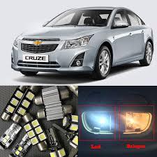 8x auto car led light bulbs interior kit for 2010 2015 chevy