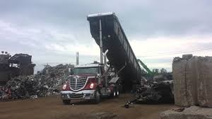International Lonestar Truck JMH Trailer Dumpster - YouTube