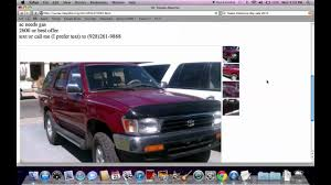 100 Craigslist Trucks Az Yuma Used Cars And Chevy Silverado Under 4000