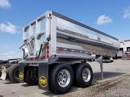 100 End Dump Truck 2019 MAC TRAILER MFG 24 FT HALF ROUND ALUMINUM END DUMP