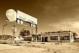 Abandoned Truck Stop | Gas Stations And Truck Stops Of Days Gone By ...